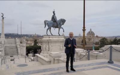 Ignoto Militi   I valori del passato in chiave 4.0 con Chicco Sfondrini in una Roma fantastica vista dai droni